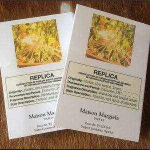 2 MAISON MARGIELA UNDER THE LEMON TREE EDT SAMPLE